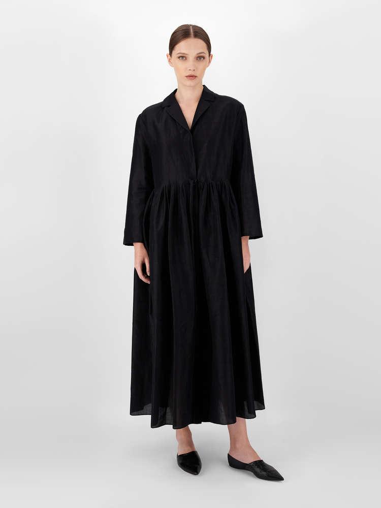 Ramie fabric dress