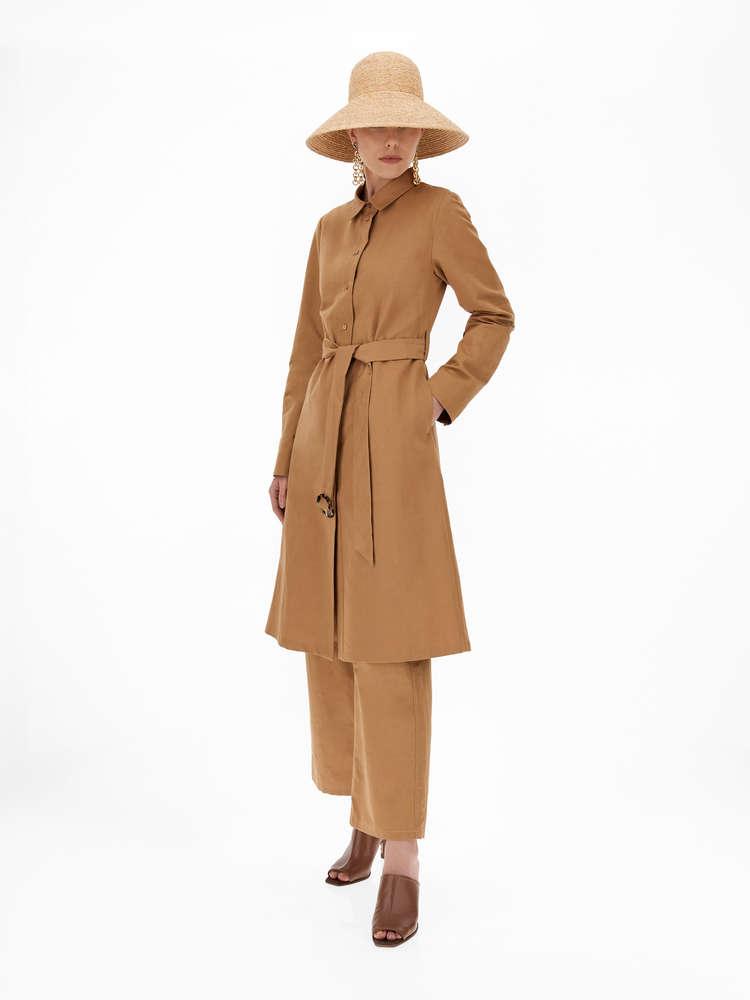 Linen and cotton dress