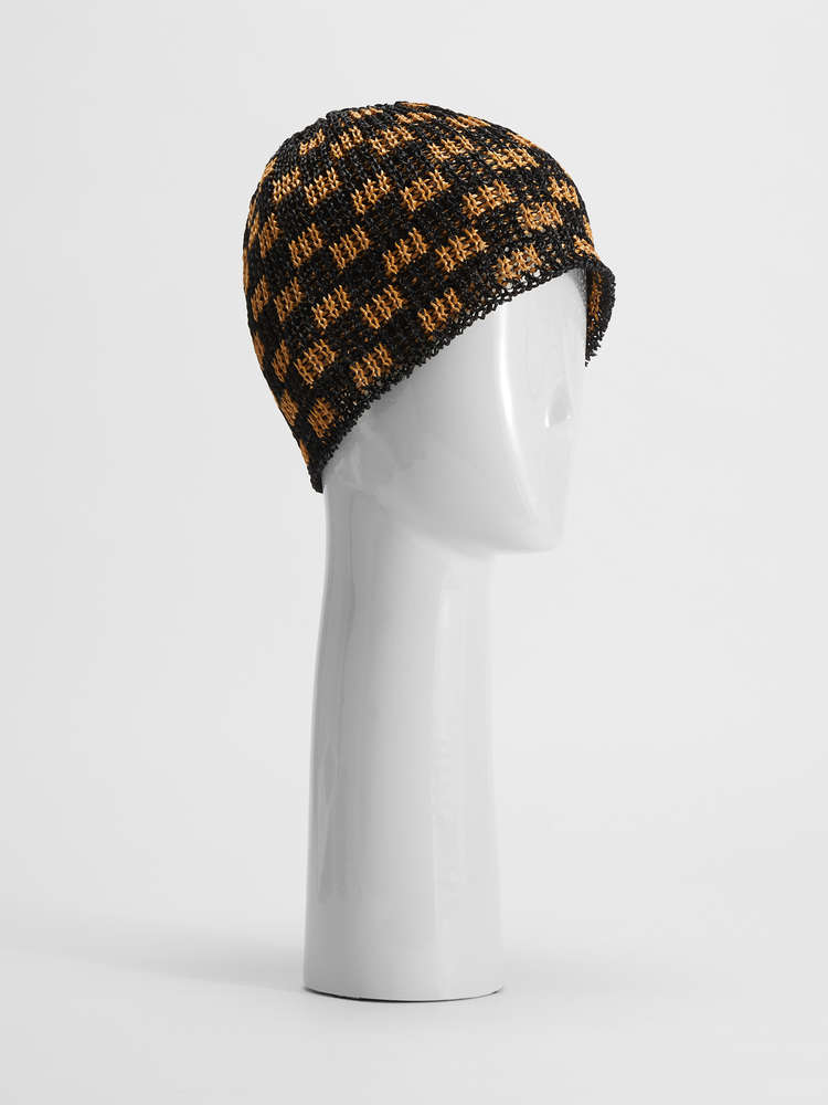 Woven yarn hat