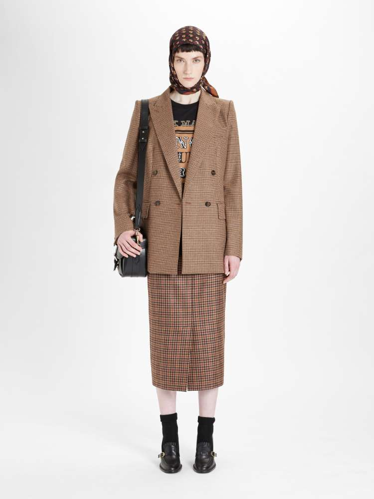 Wool and cashmere blazer