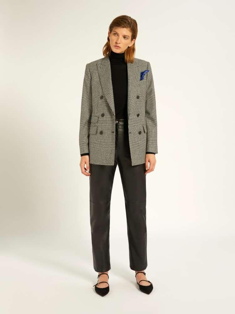 Cashmere and wool blazer