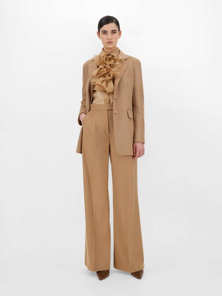 Camel trousers