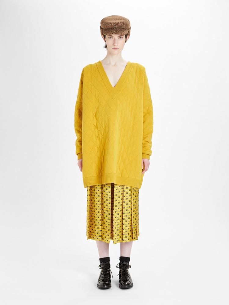 Silk culottes
