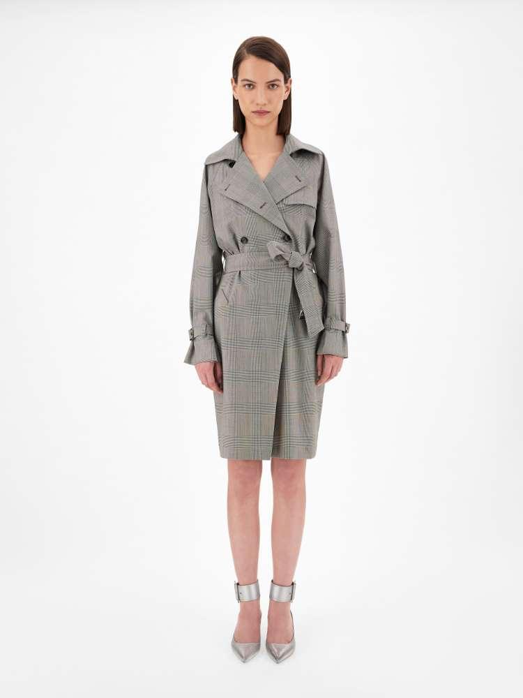 Wool canvas dress