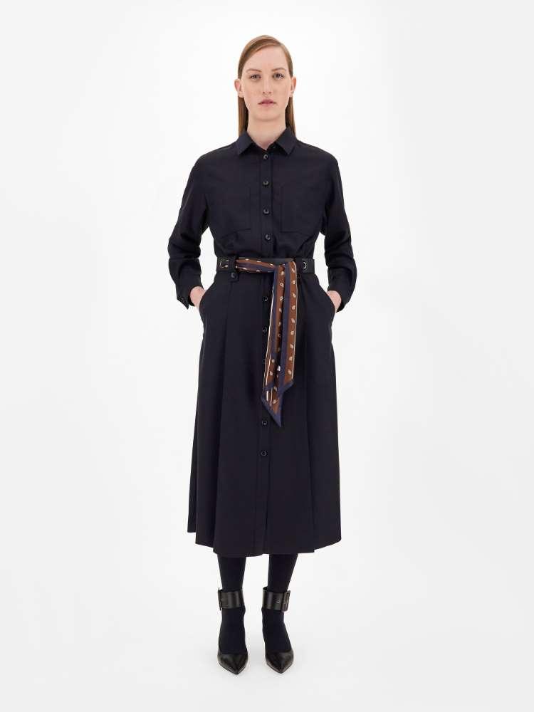 Kleid aus Wolltwill