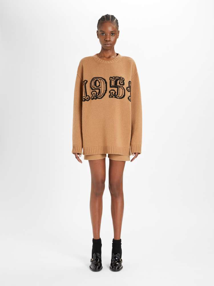 Wool and cashmere knit jumper
