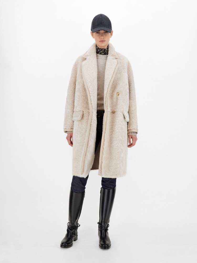 Manteau en peau de mouton