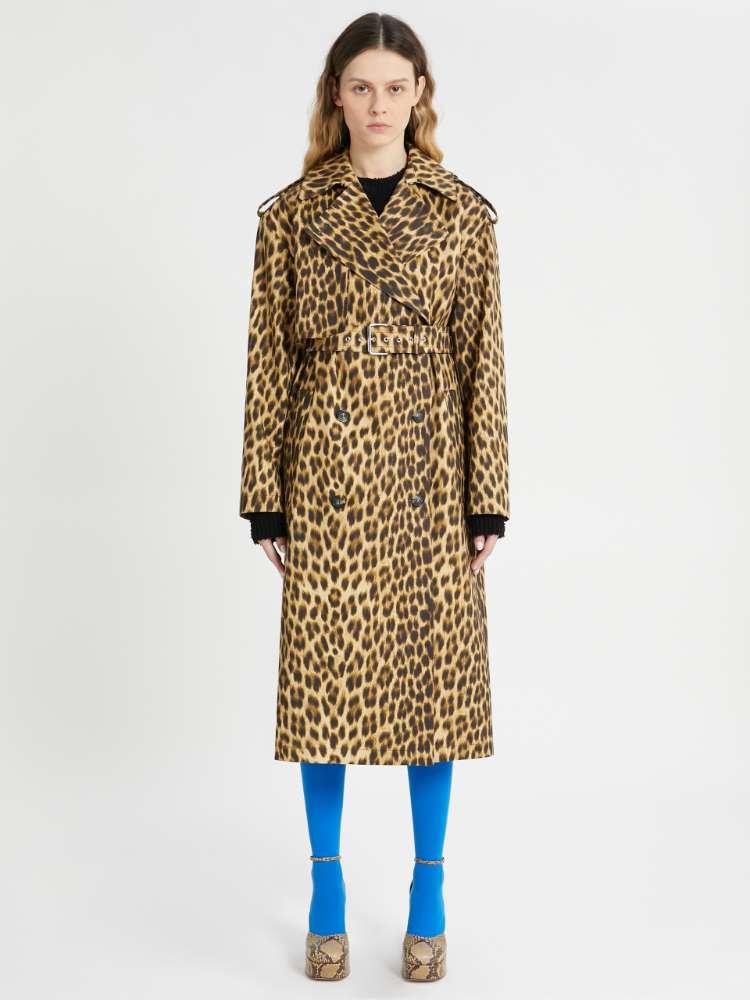 Trench-coat imprimé