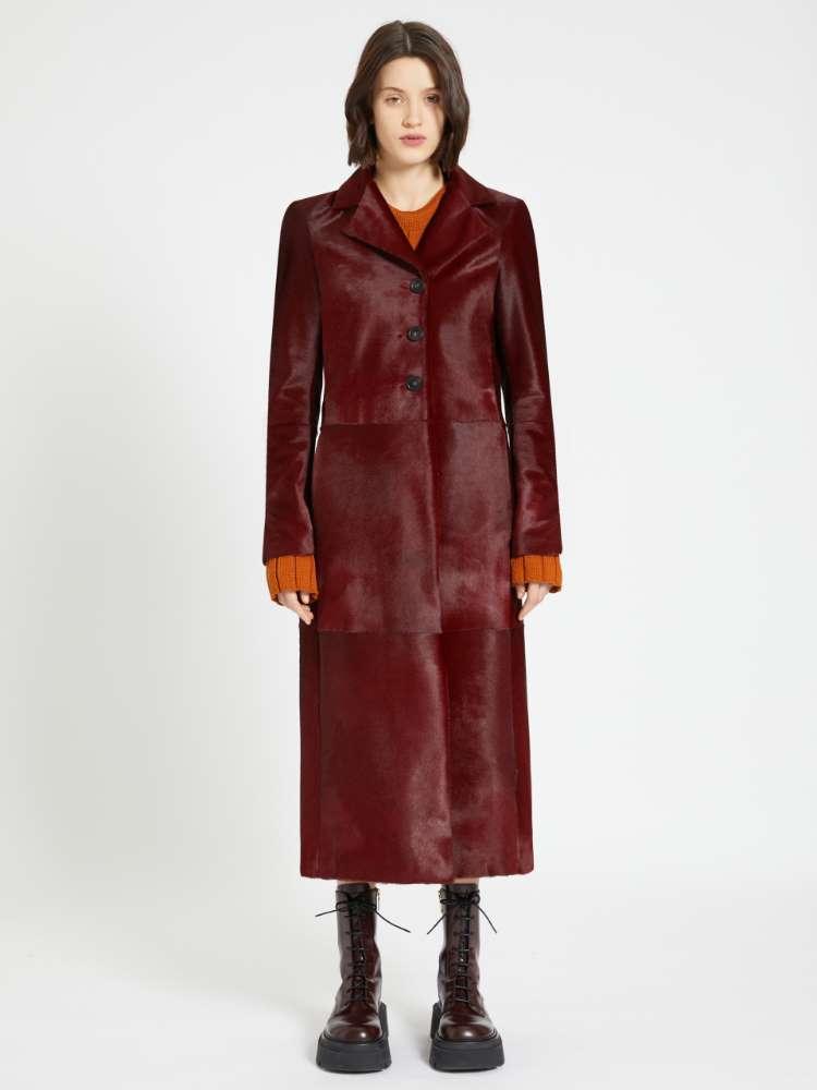 Manteau en poulain
