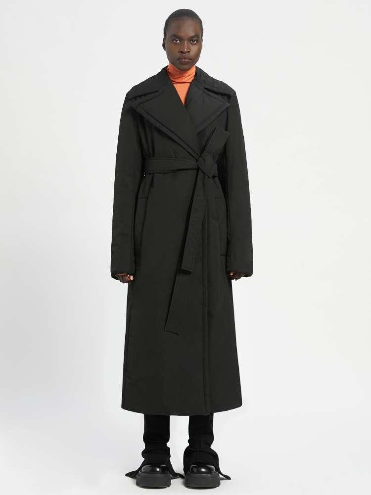 Trench-coat capitonné