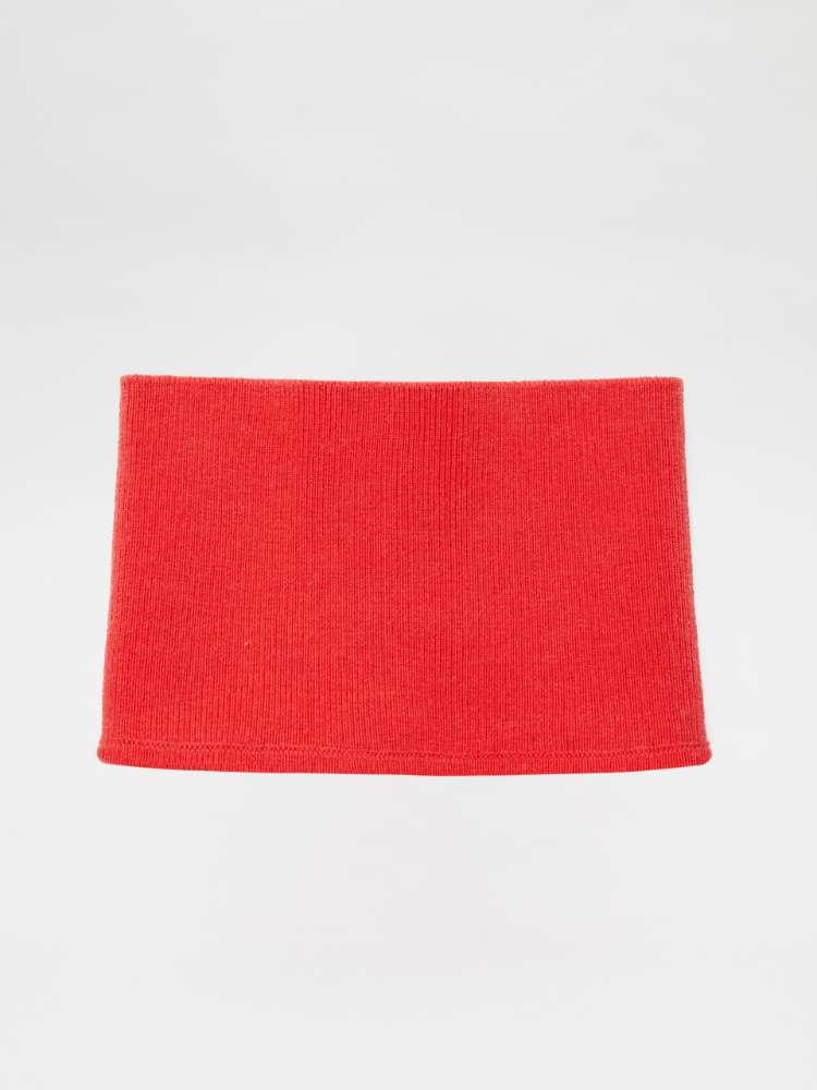 Stretch knit neck warmer