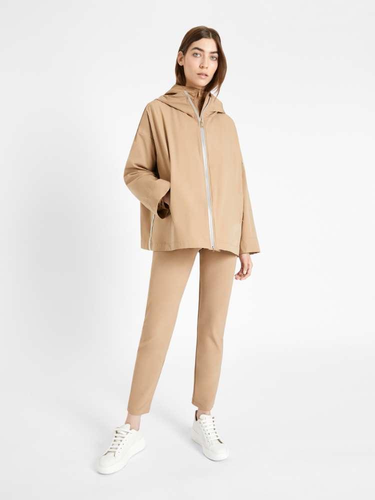 Water-resistant down jacket