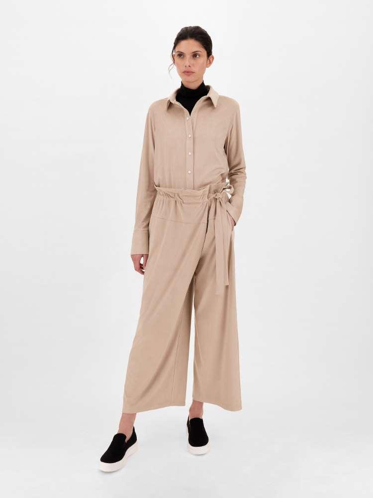 Buckskin-look trousers