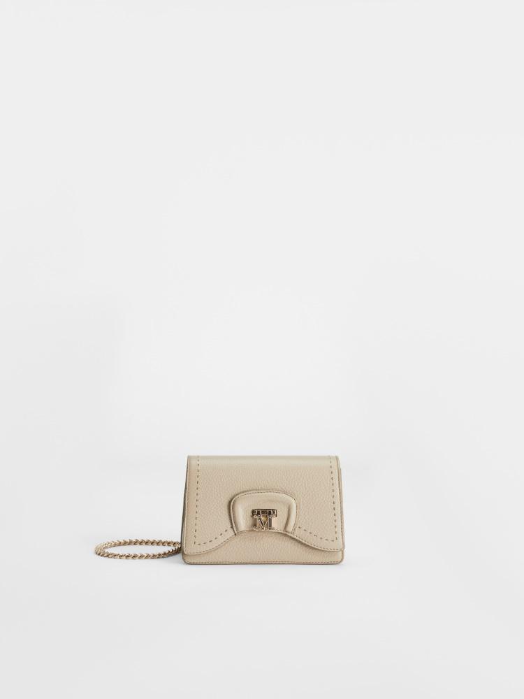 Deerskin leather clutch