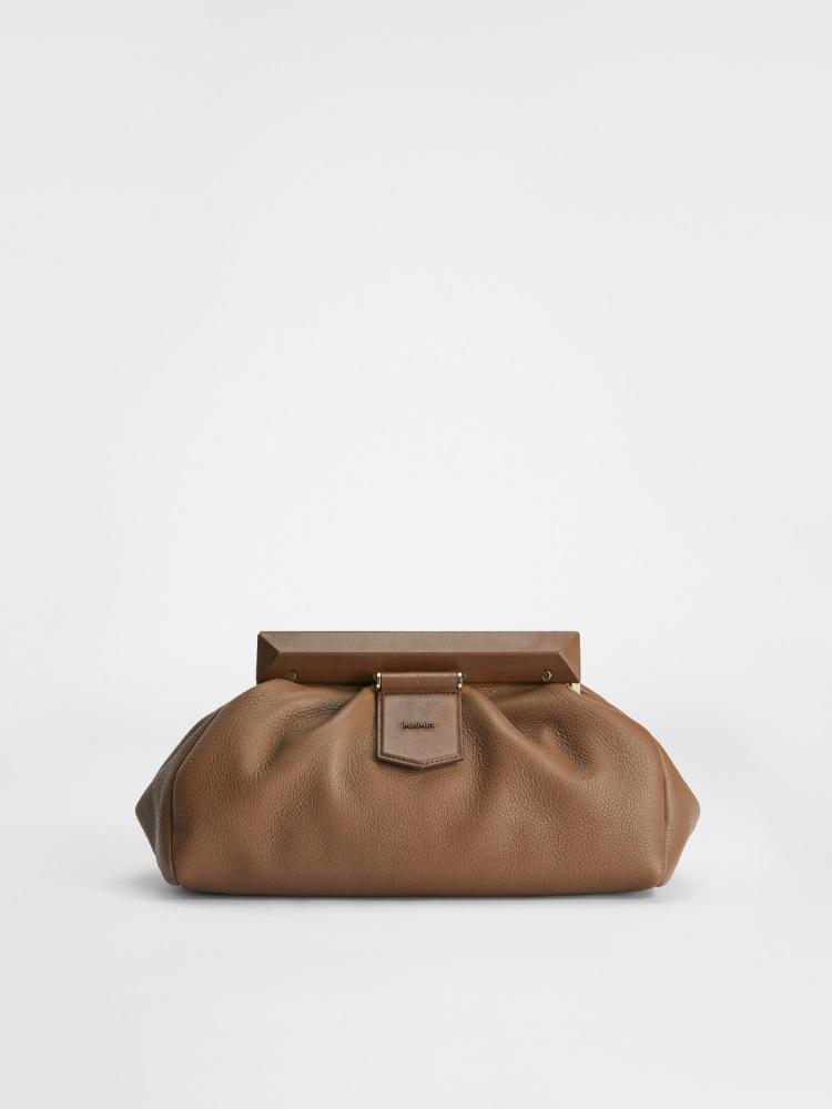 Deerskin clutch bag