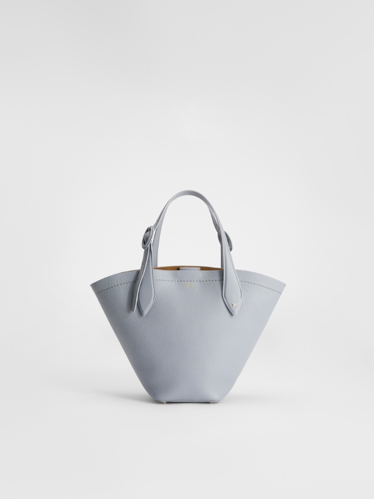 Small deerskin shopping tote
