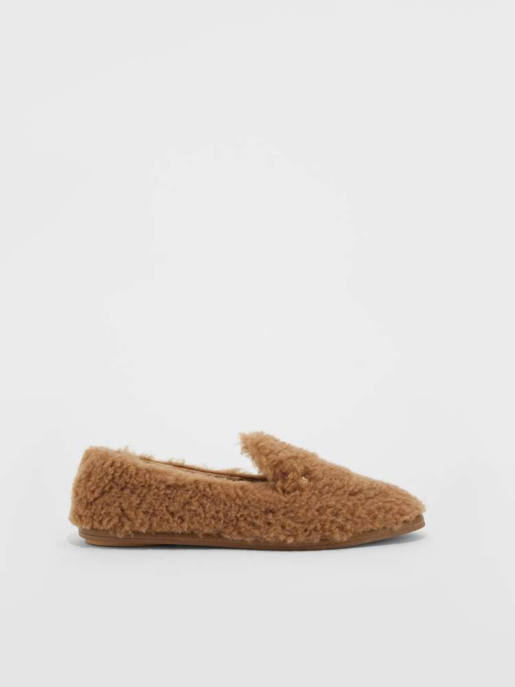 Loafer in tessuto Teddy