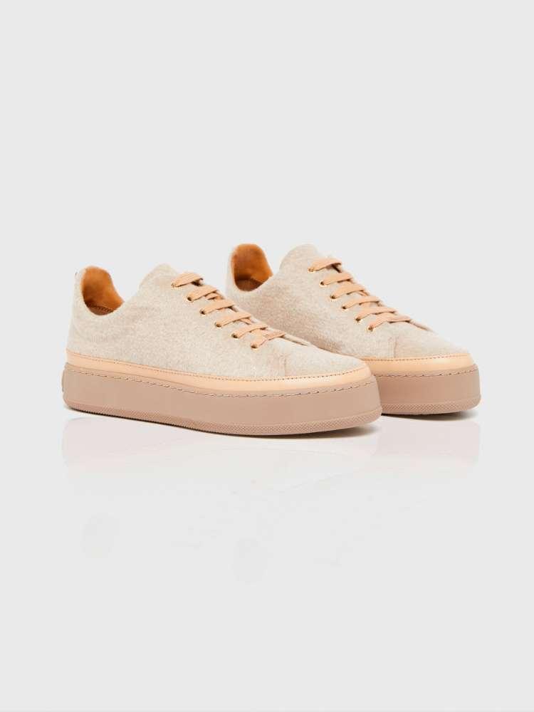 Sneakers en cachemire