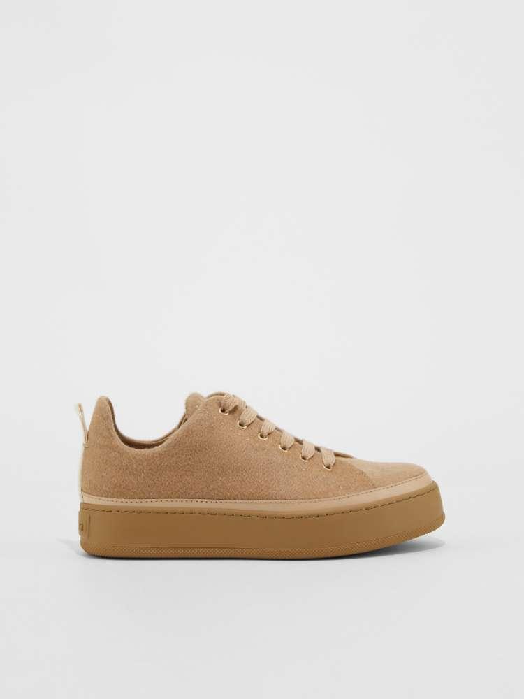Sneaker in cachemire
