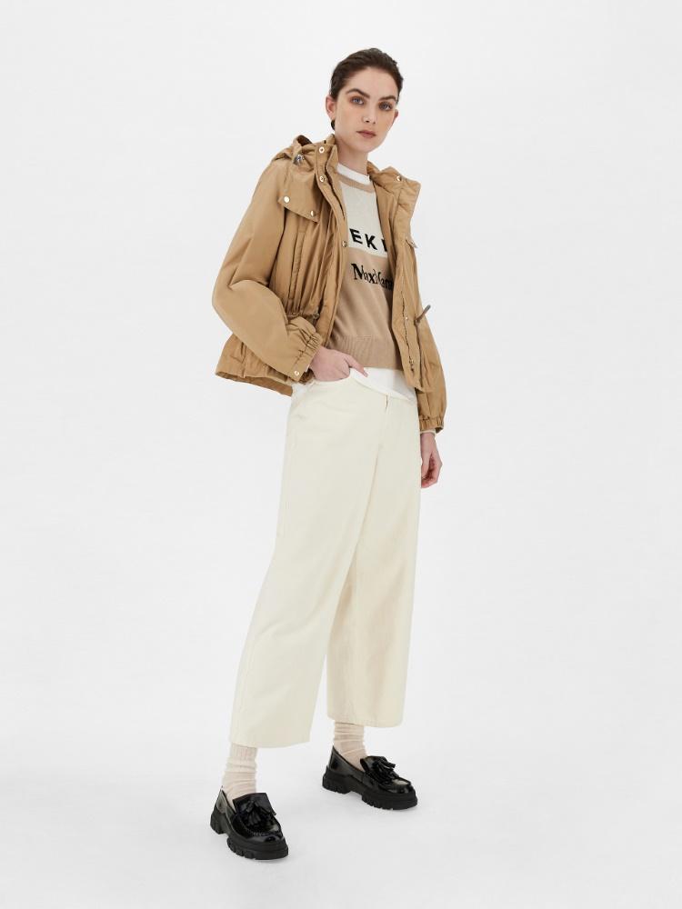 Water-repellent taffeta jacket
