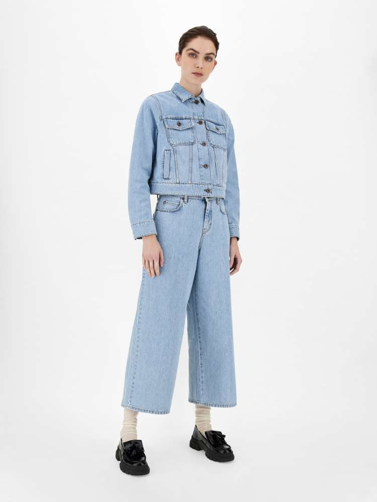 Relaxed-fit denim jeans