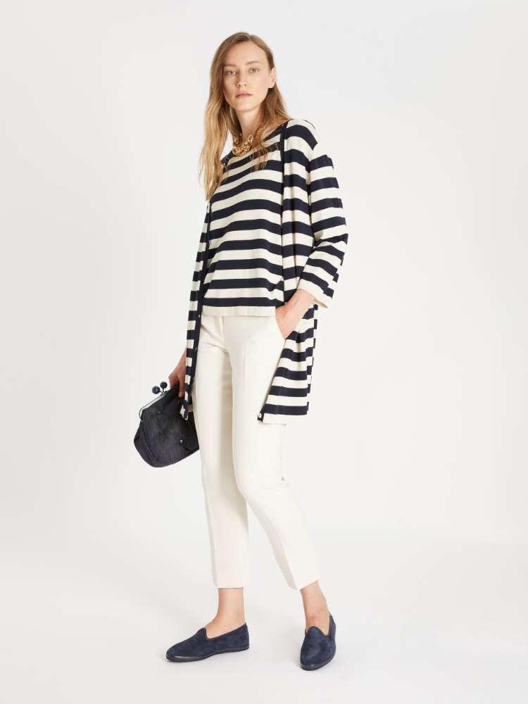 Viscose-blend sweater