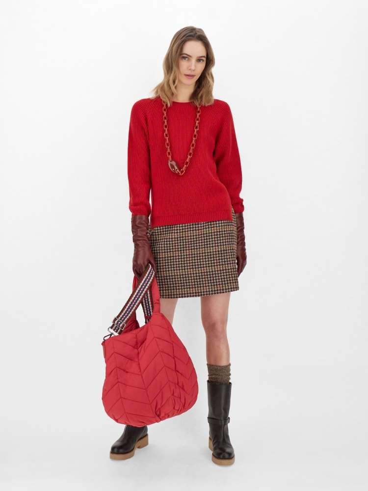 Pull en fils de laine