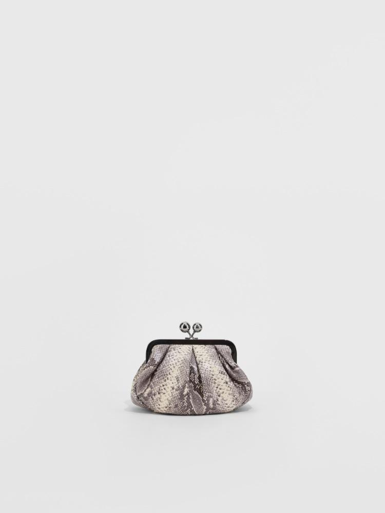 Petit Pasticcino Bag en cuir imprimé python