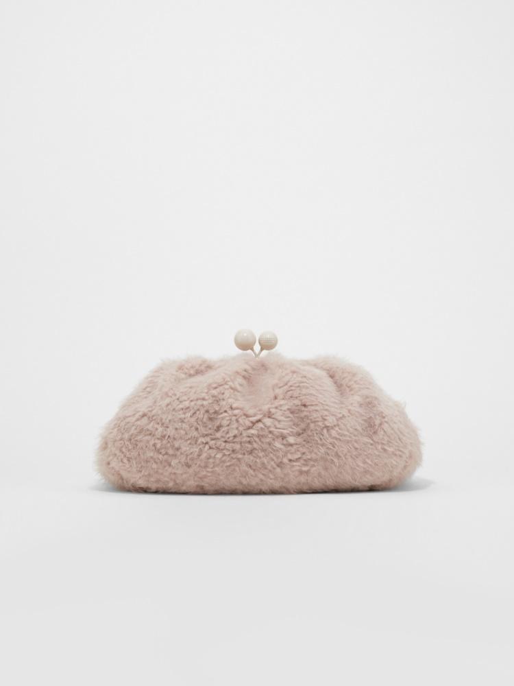 Small faux fur Pasticcino bag
