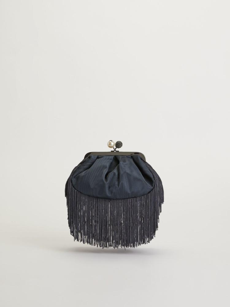 Small moire fabric Pasticcino Bag