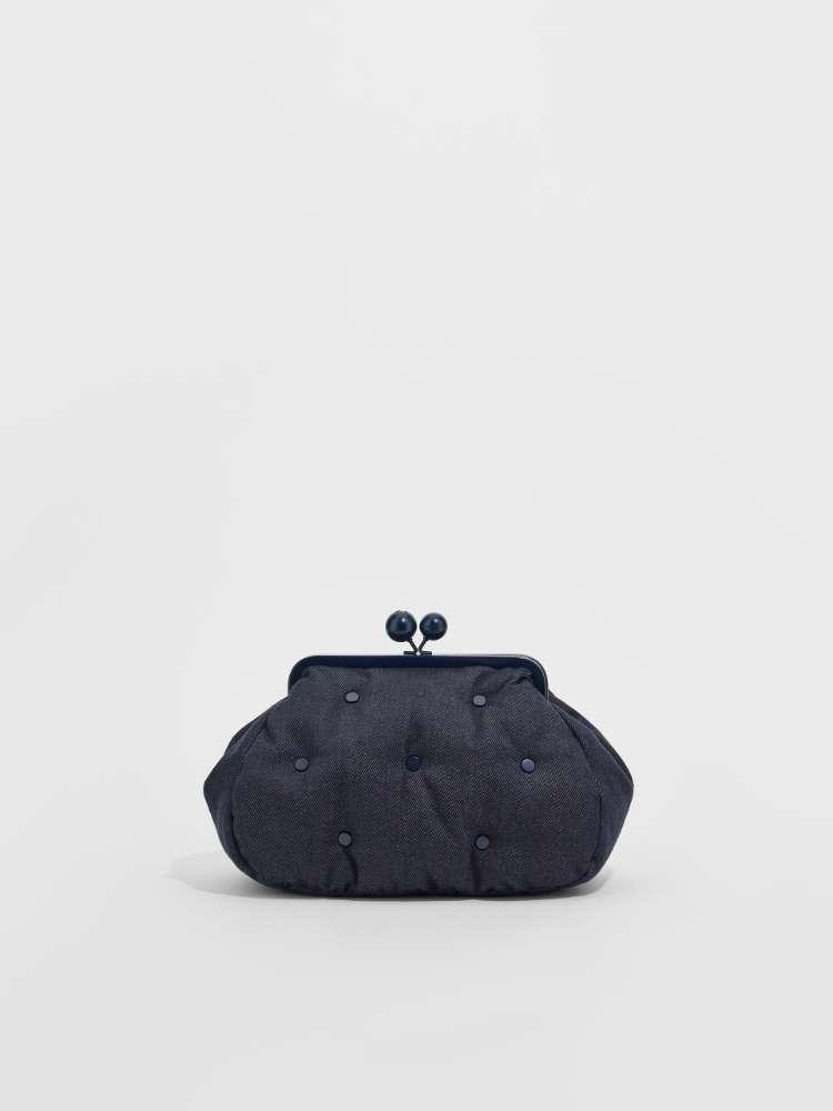 Medium denim-effect Pasticcino Bag