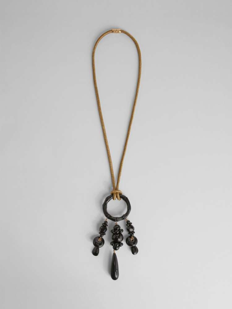 Collier avec pendentif chandelier