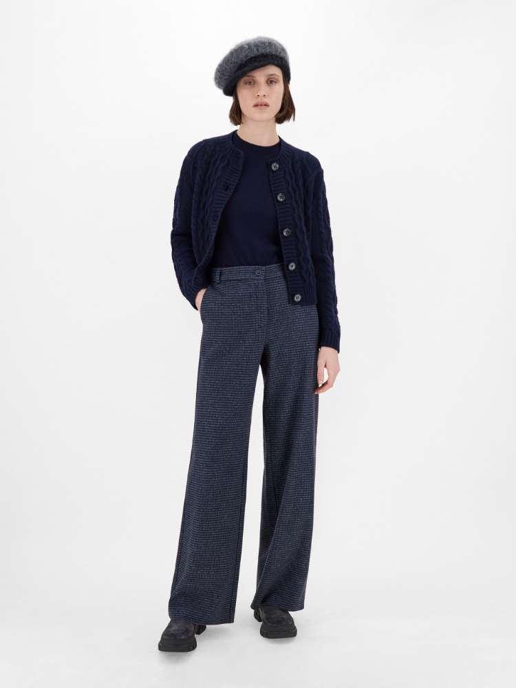 Pantalon en jersey de flanelle