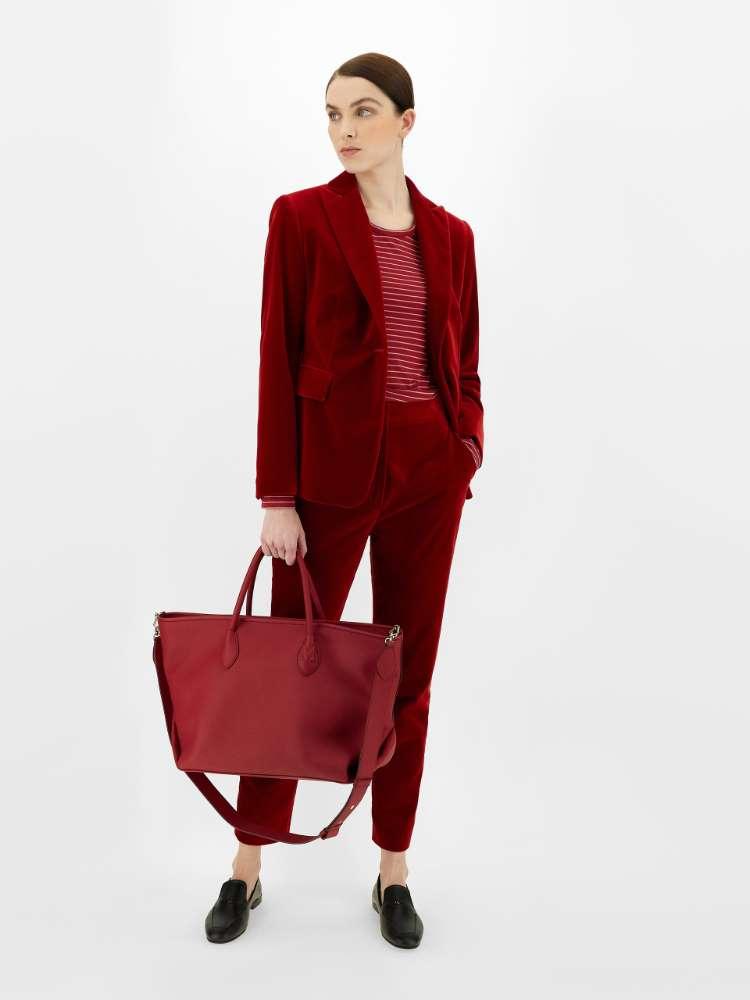 Cotton velvet jacket