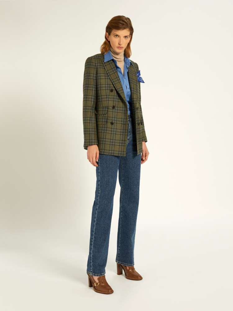 Pantalon en denim de coton