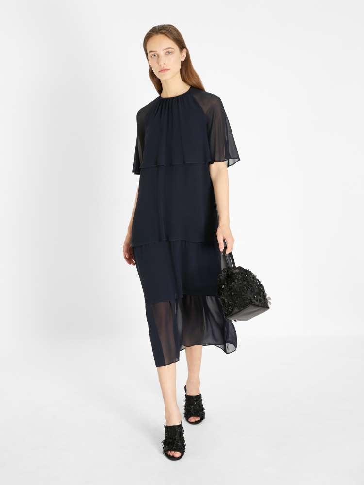 Silk georgette dress