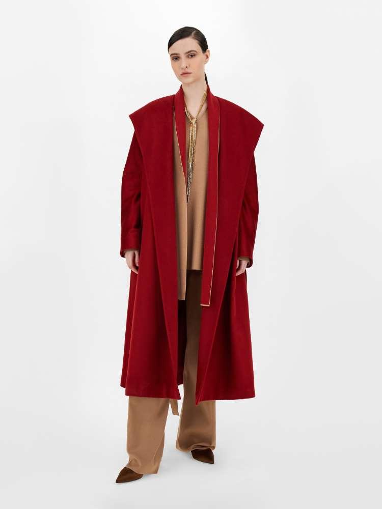 Viscose yarn coat