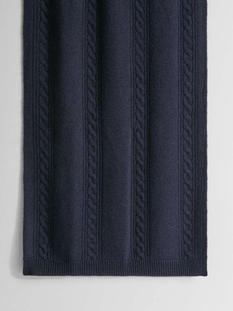 Écharpe en fil de laine et cachemire