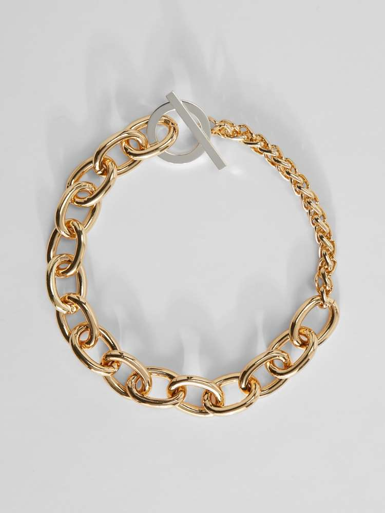 Collier chaîne en métal