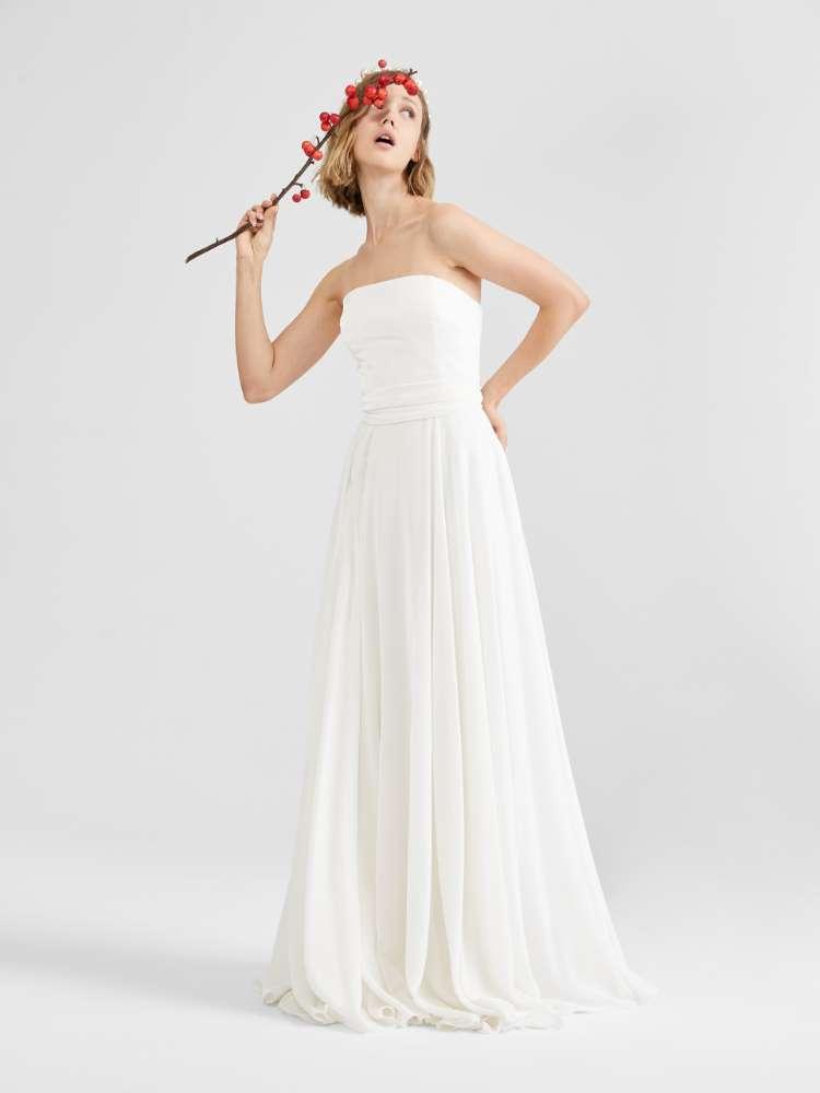 Iridescent velvet dress