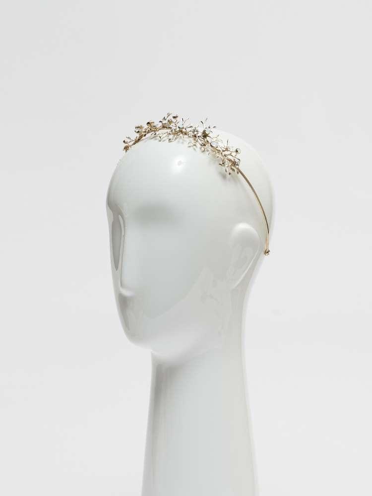 Serre-tête bijou avec cristaux