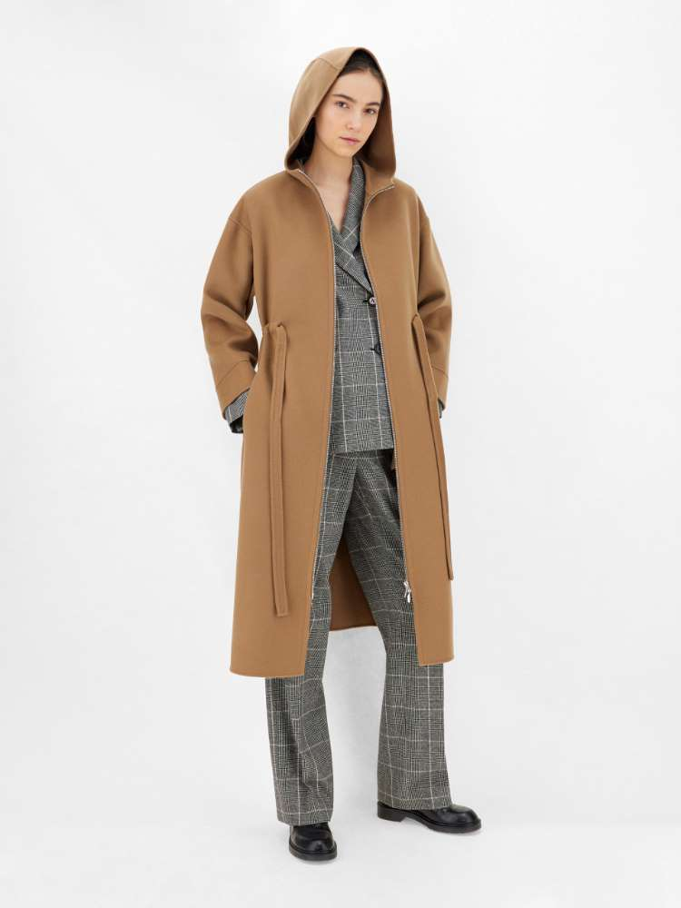 Wool parka