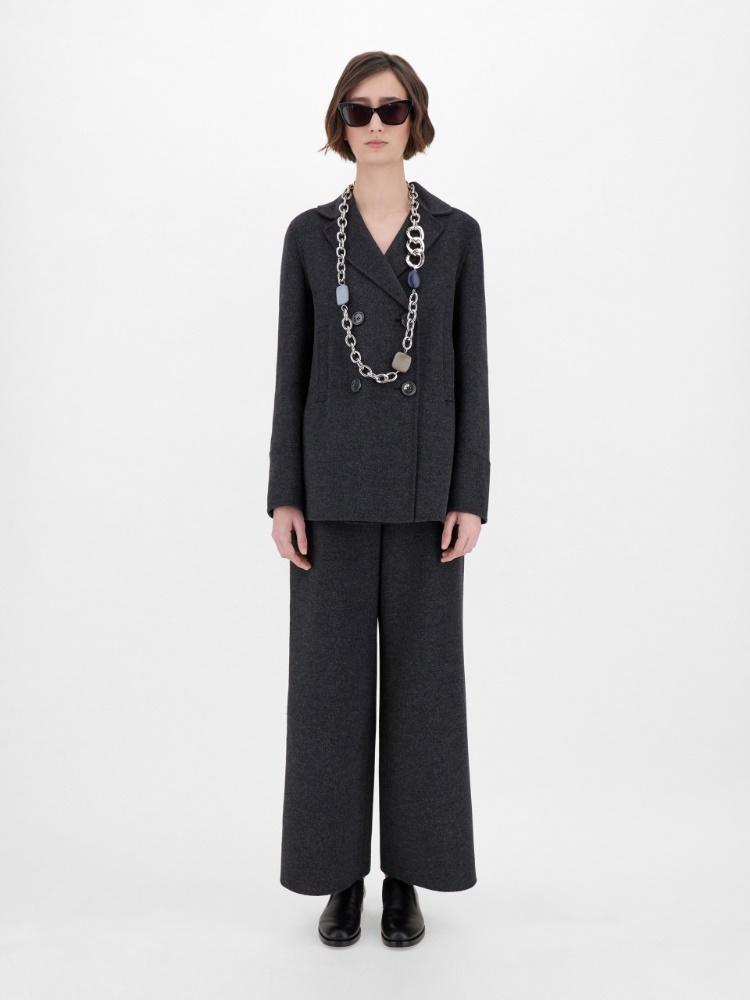 Wool and angora jacket