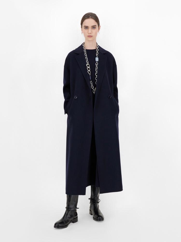 Robe en laine et angora