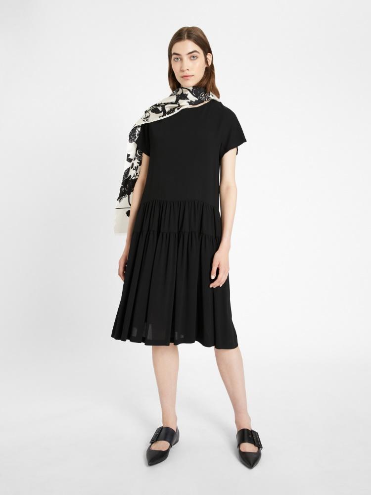 Viscose sable dress