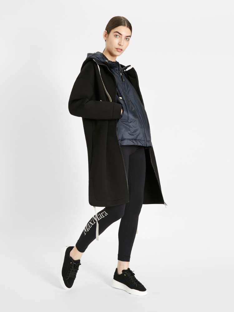 Water-repellent technical fabric jacket