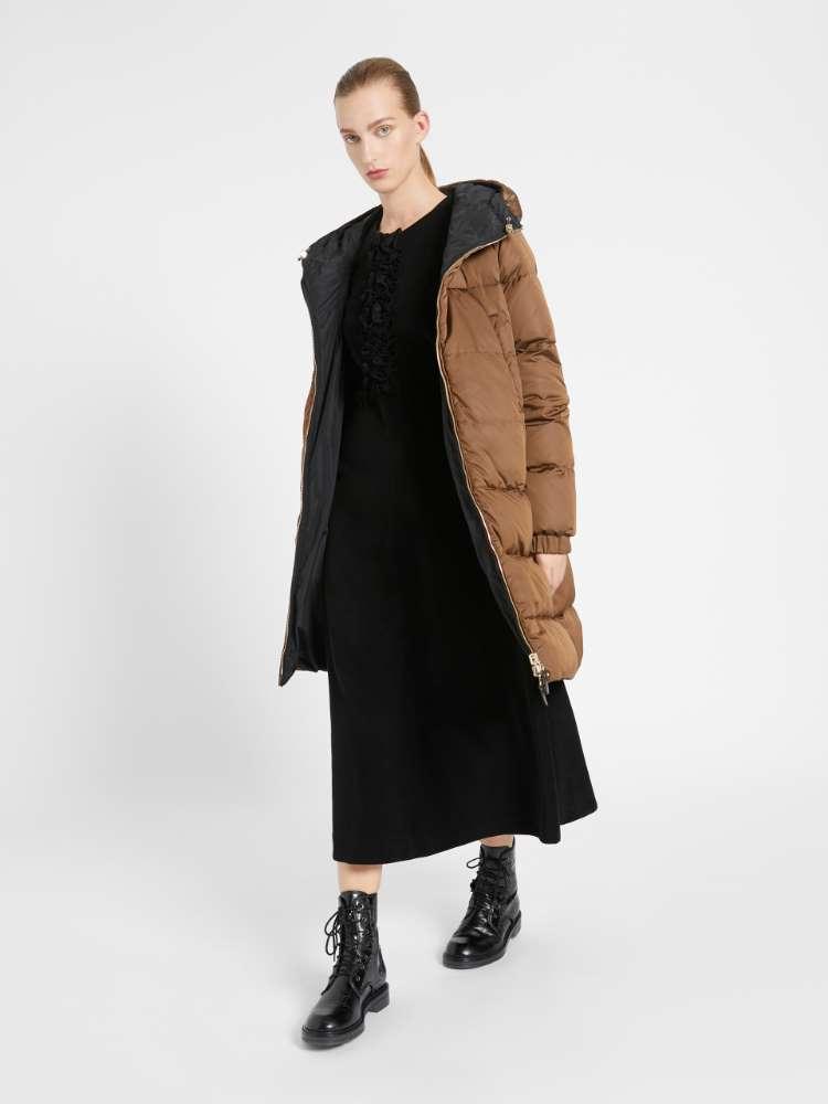 Manteau réversible en taffetas déperlant